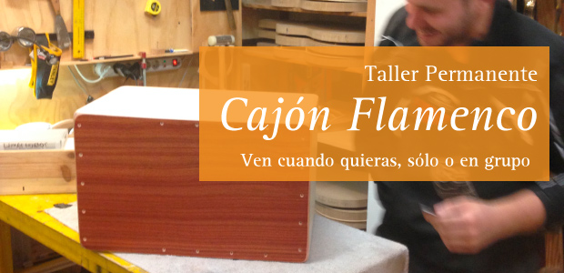 Image for Open workshop for making a Cajón Flamenco